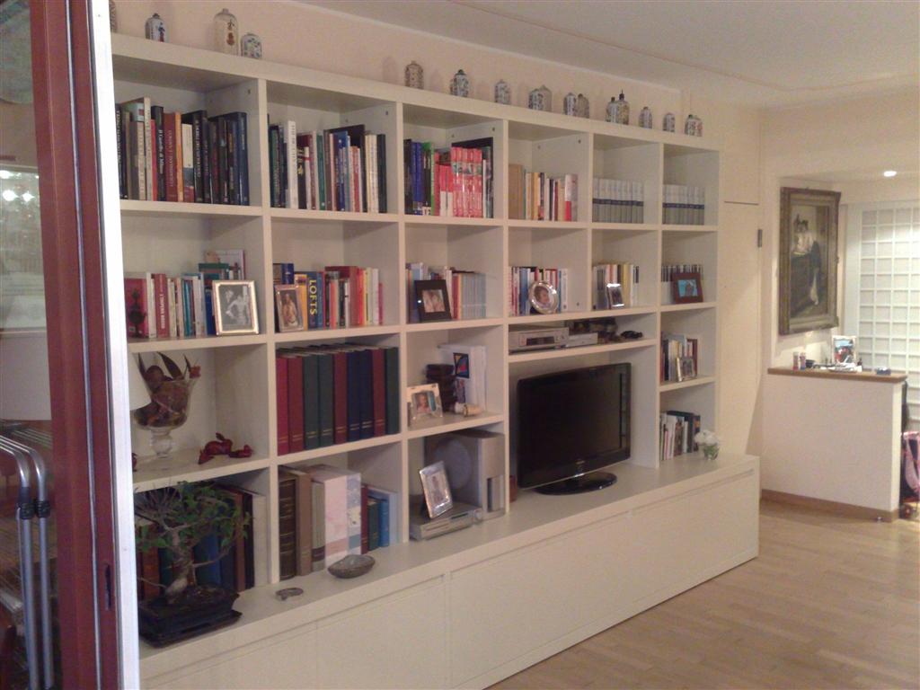 Librerie per soggiorno una collezione di idee per idee - Librerie arredo design ...